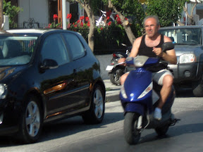 skuter na luzie