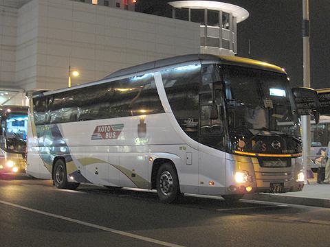 琴平バス「高松~東京線」 日野セレガSHD(PKG-RU1ESAA)