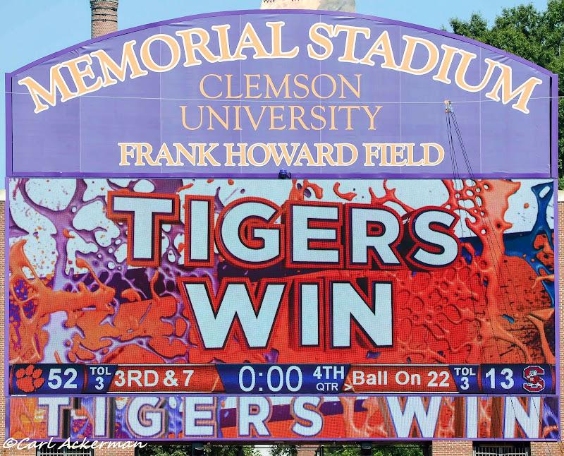 Clemson vs. SC State - Ackerman Photos - 2013, Football, SC State