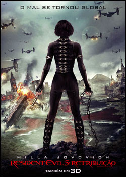 3 Resident Evil 5: Retribuição   TS   Dual Áudio