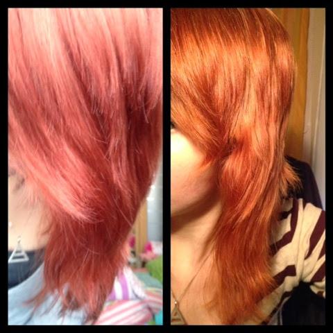 Haare Nach Aufhellen Orange