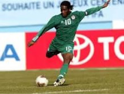 Former Super Eagles Midfielder, Okocha Elected As Delta State FAChairman