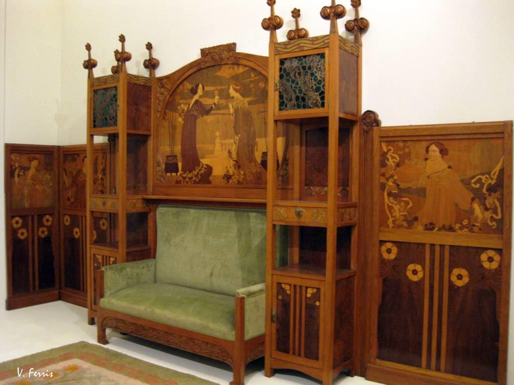 Mobiliario Y L Mparas Barcelona Modernista # Muebles En El Puig