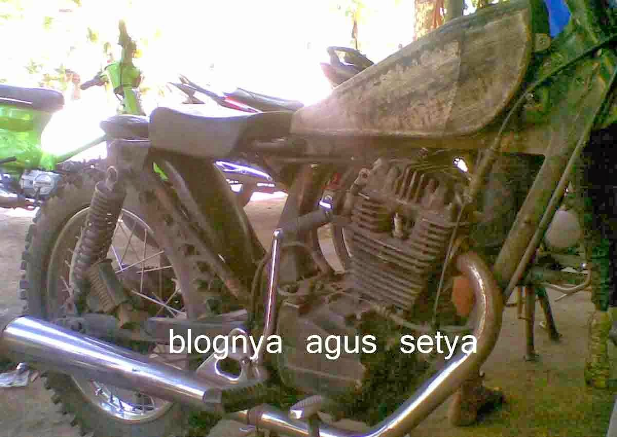 Motor Gl Max Modifikasi Trail