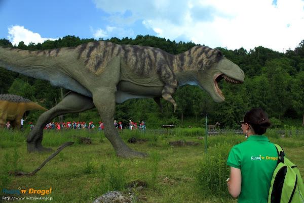 bałtów park dinozaurów - tyranozaur rex