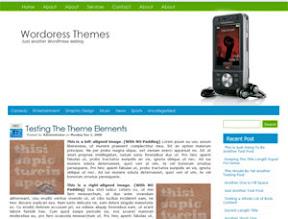 Walkman Wordpress Theme