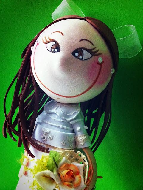 ¡Más mona no puede ser! Me encanta. Gracias Silvia espero que le gustara mucho. Y también por llevarte una pulserita virgencita plis para ti. - blogger-image-1455131481