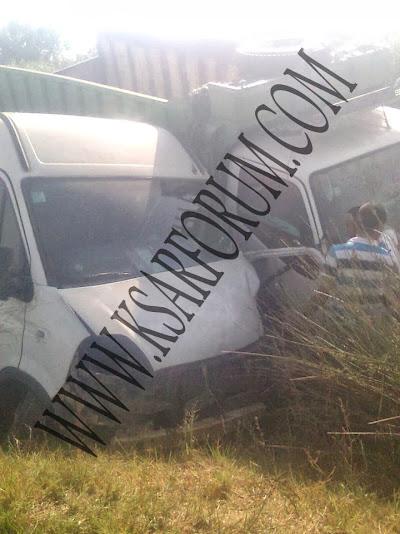 حادثة سير في طريق الخضاضرة تخلف قتيلا و خسائر مادية