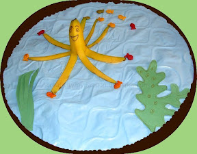 Make an Banana Octopus