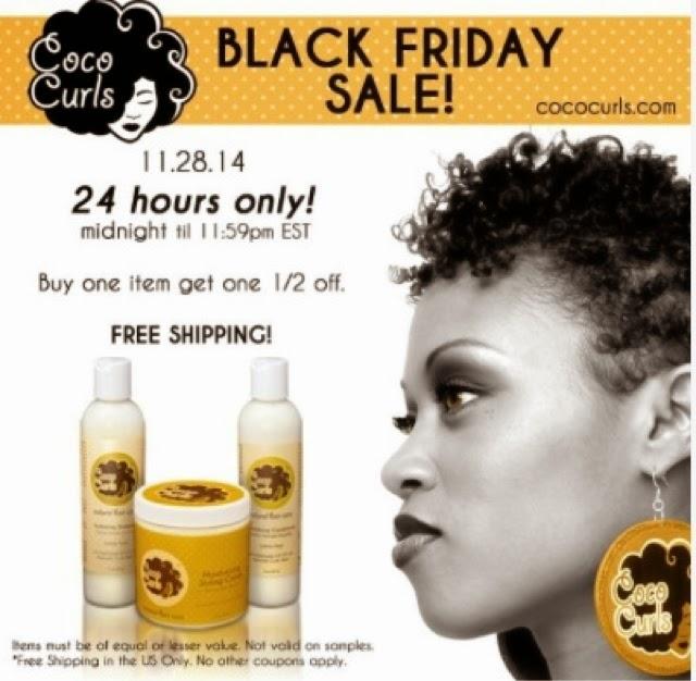 Black Friday Natural Hair Care Sales
