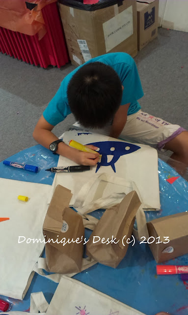 Personalizing the Reusable bag