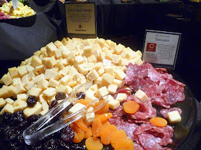 2013 Showcase of Wine and Cheese Boys and Girls Club Portland cheese buffet Sartori Aged Asiago Olli Salumeria Toscano