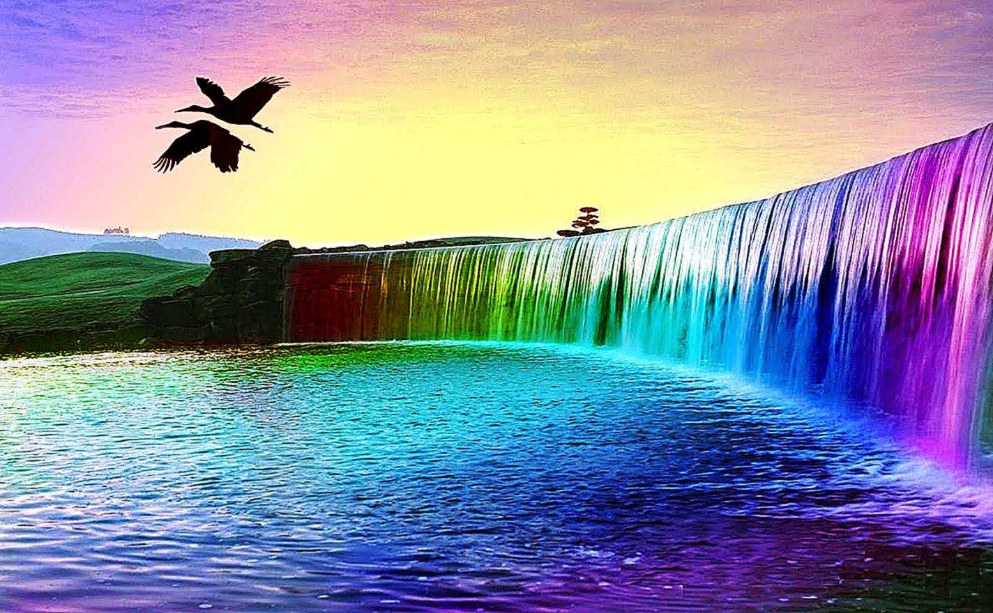 3D Waterfall Wallpapers Desktop