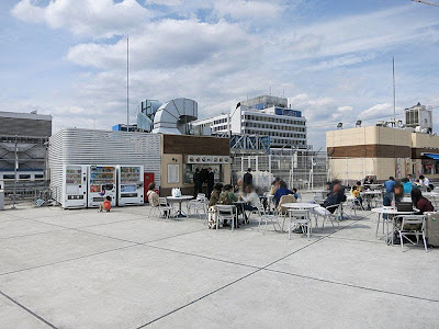 まったりとした空気が流れる西武池袋百貨店の屋上