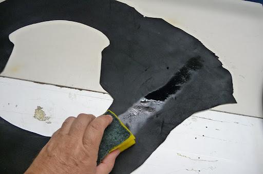Alcasa bricos tapizar el volante en cuero pero de una - Esponja para tapizar ...