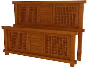 tansu bed frame