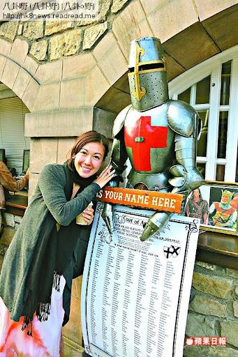 蘇格蘭的鐵甲武士吸引住詩韻,可惜未有真正艷遇。