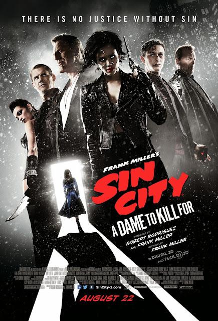 Αμαρτωλή Πόλη: Η Κυρία Θέλει Φόνο (Sin City: A Dame to KIll For) Poster