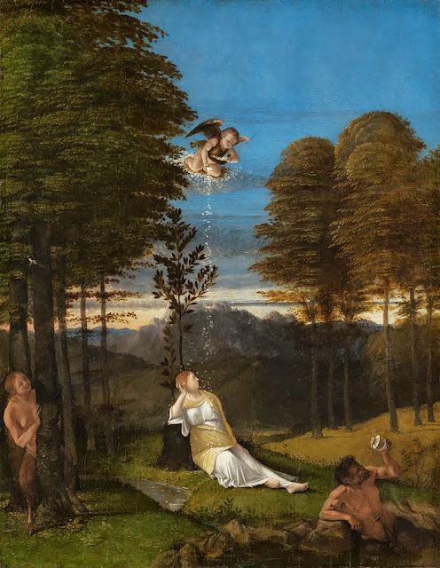 Lorenzo Lotto - Allegory of Chastity