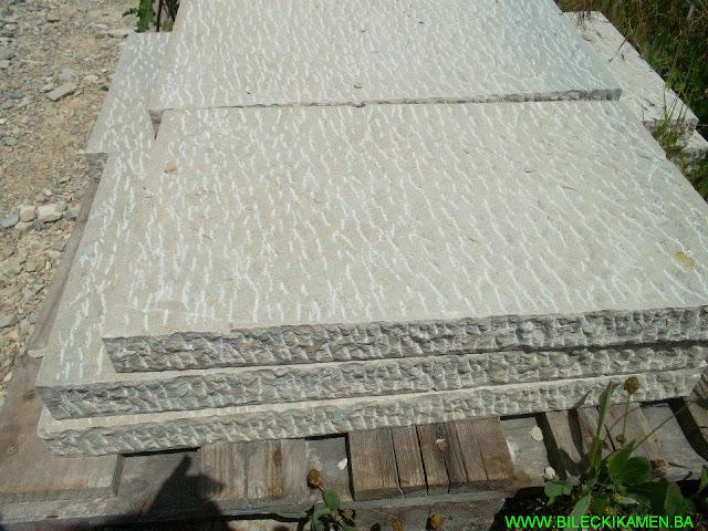 Bilećki kamen - preklopi špicani