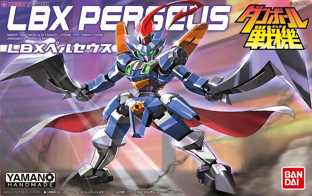 Bao bì sản phẩm đồ chơi Đấu sĩ LBX 019 Perseus