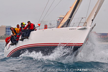 J/122 Teamwork- sailing offshore- world's best 40 ft sailboat!