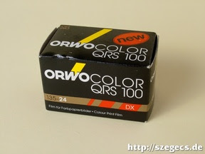 ORWO COLOR QRS 100