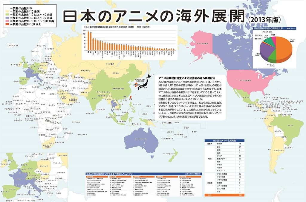 日本動畫的海外發展