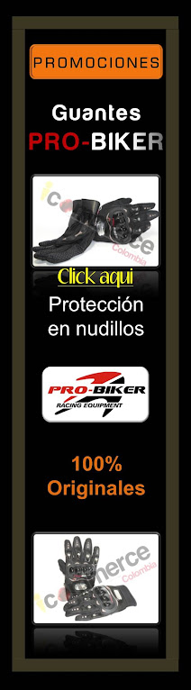 Promocion Guantes Probiker para Motociclistas