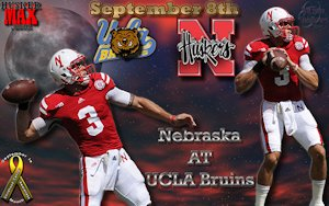 Nebraska Vs UCLA Husker Max Gameday Wallpaper