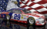 Kevin Harvick NASCAR Unites Patriotic Wallpaper