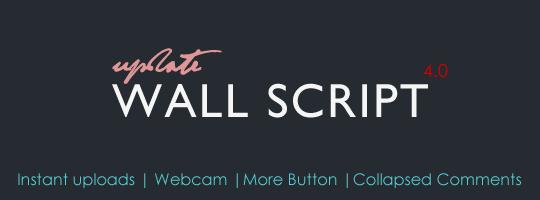 Wall Script 4.0 Update.