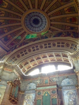 McEwan Hall interior ceiling Edinburgh University