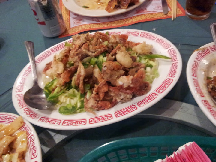soft shell crabs. From Foodie Finds: Authentic Chinese at Milwaukee's Fortune Restaurant