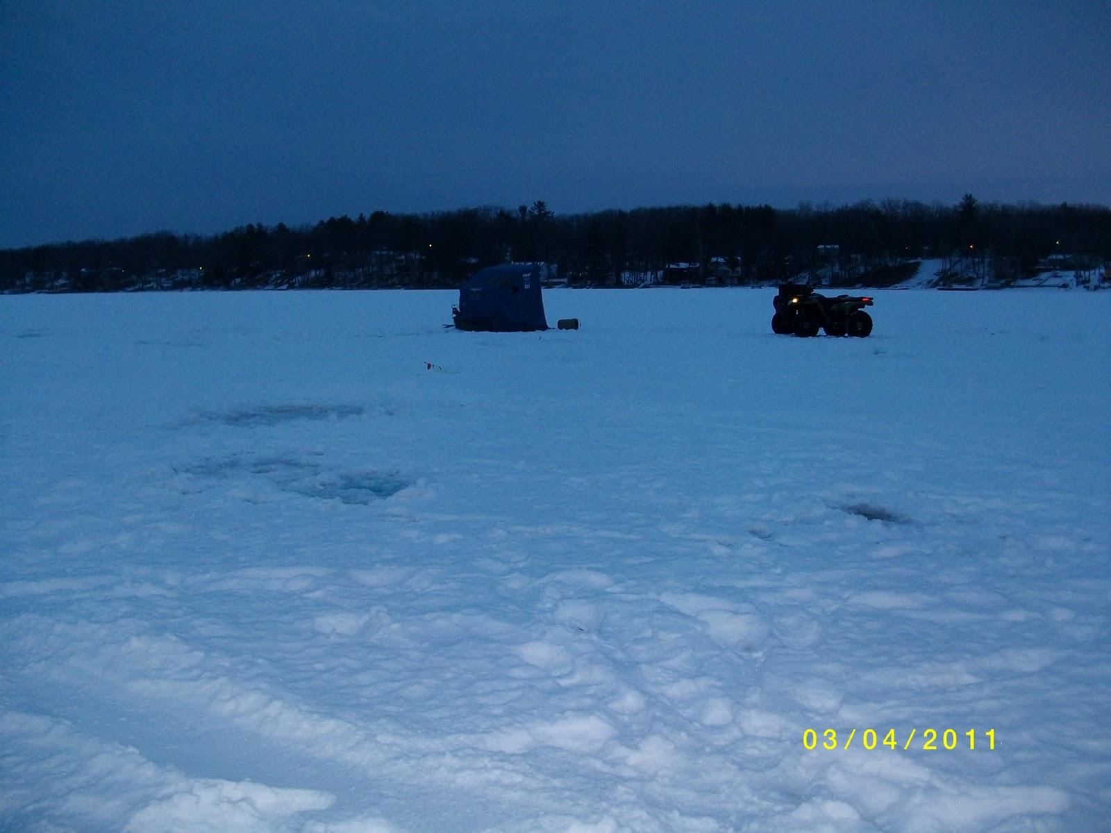 Houghton lake walleye report budd lake fishing report 3 4 11 for Enid lake fishing report