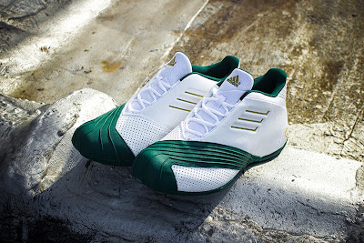 lebron james adidas tmac i svsm home 03 Closer Look at the Adidas TMAC I St. Vincent St. Mary Edition