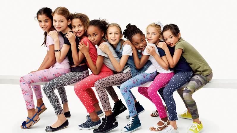 Benetton: Jeggings super stretch para las girls de la casa