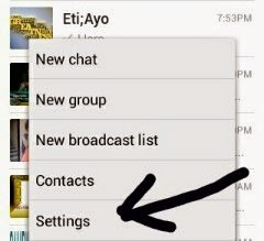 How To Disable/Hide Whatsapp LastSeen Feature
