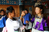 Chinese Dong Women in Traditional Dress Photo 2