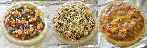 Veg Pizza Step4