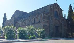 Die Geschichte Siziliens - Die Chiesa dello Spirito Santo in Palermo. Hier begann die Sizilianische Vesper.