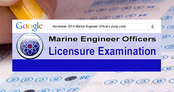 November 2014 Marine Engineer Officers (Top 10) Topnotchers