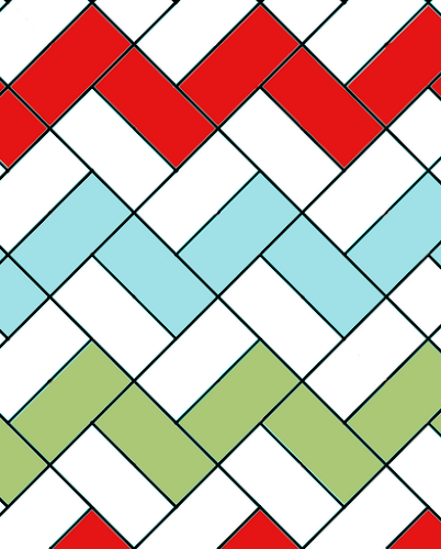 Hello Zig Zag Quilt Pattern : Pere-No?l zigzag quilt tutorial part one: quilt top Sewn Up