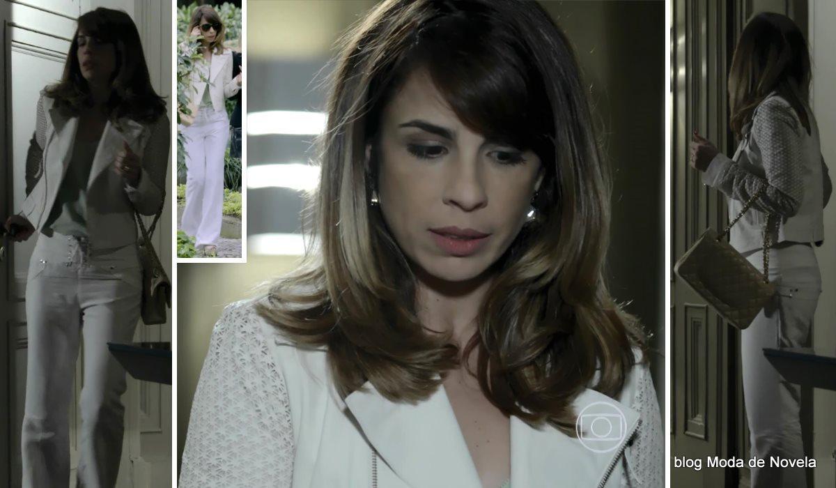 moda da novela Império - look da Danielle dia 22 de agosto