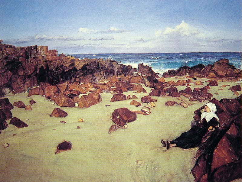 James Abbott McNeill Whistler - The Coast of Brittany