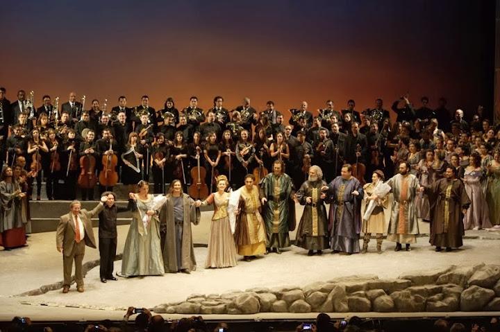 Montaje de la ópera Tannhauser en el Teatro Municipal Jorge Eliécer Gaitán de Bogotá, dirigido por Gustavo Dudamel y con la participación de la Orquesta Sinfónica Simón Bolívar de Venezuela