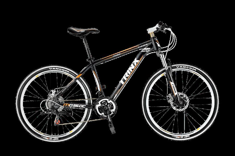 Xe dap the thao dia hinh TRINX M036dc, xe dap the thao, xe dap trinx, xe đạp thể thao chính hãng, xe dap asama, M036DC
