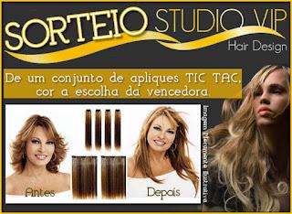 Sorteio Studio Vip Hair Design