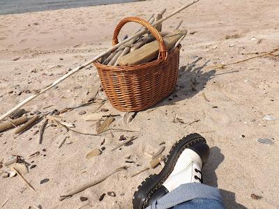 Darłowo darłówko plaża spacer brzegiem morza wypoczynek noclegi skarby za darmo nad morzem Panorama LeSage Anna Grabowska