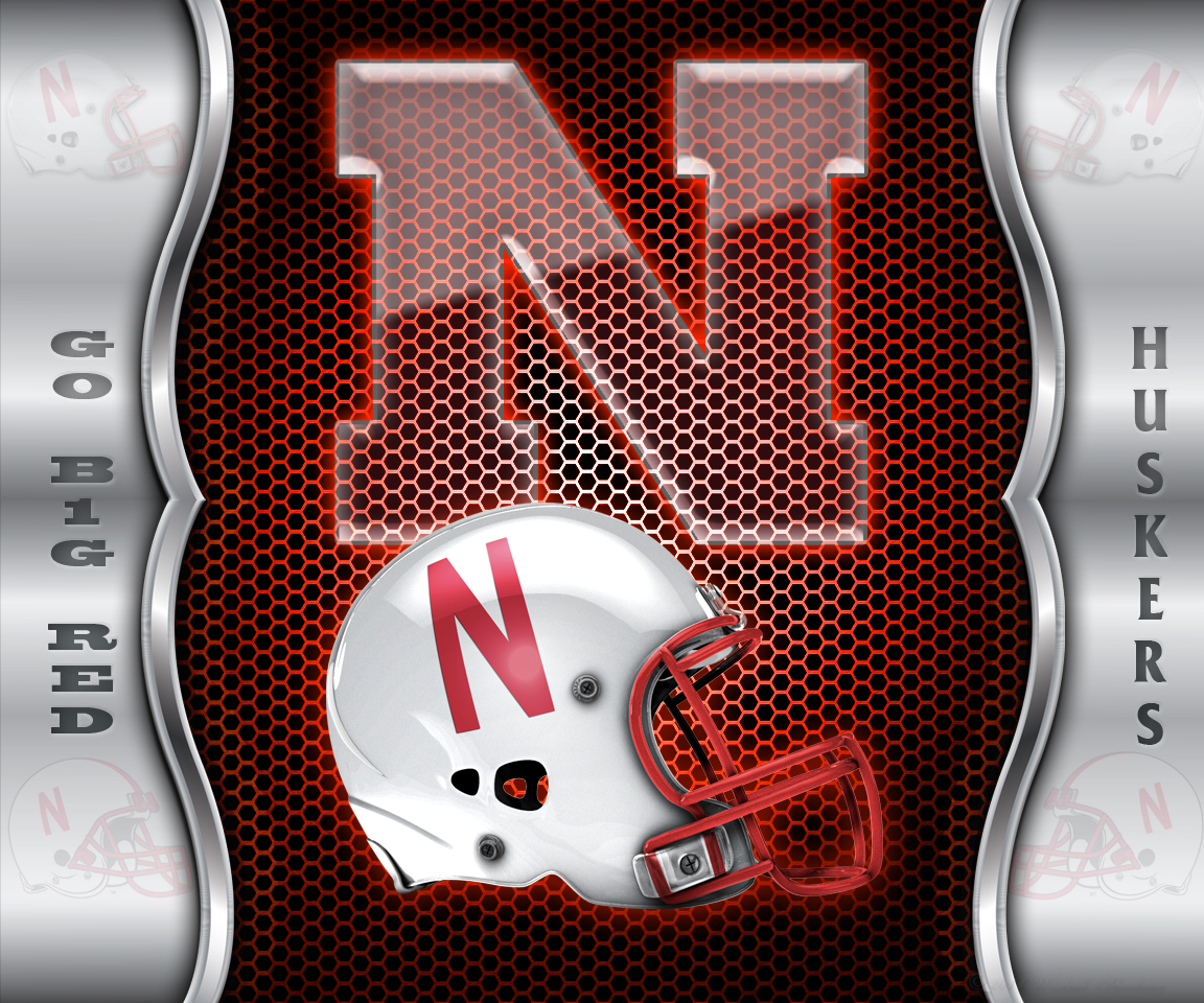images of tablet or make the nebraska cornhuskers wall border wallpaper